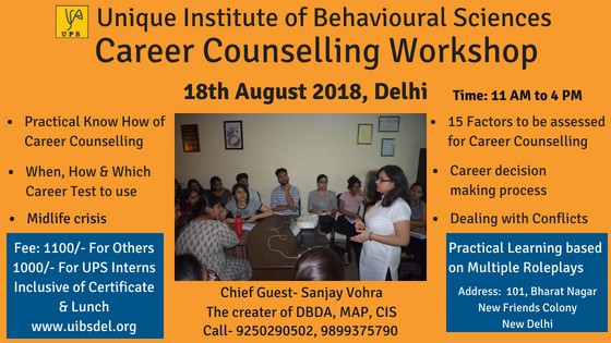 Career Counselling Course in Delhi