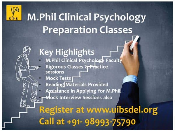 M.Phil Clinical Psychology