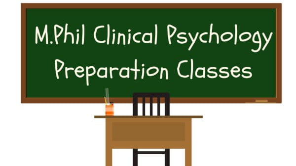 M.Phil Clinical Psychology Coaching classes