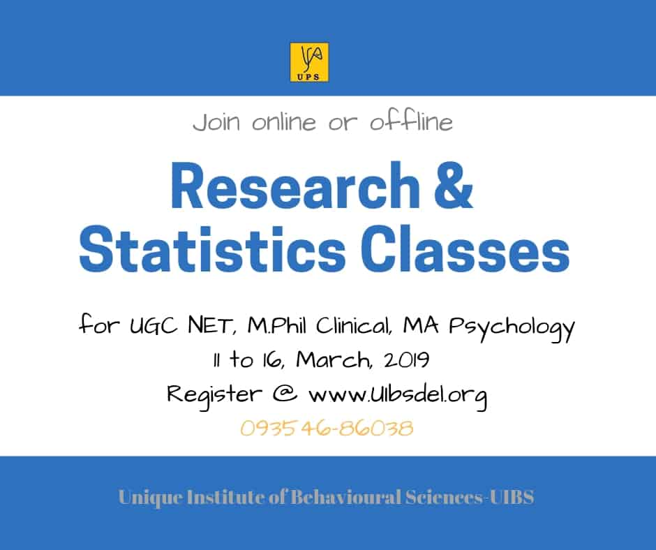 Research & Statistics Workshop