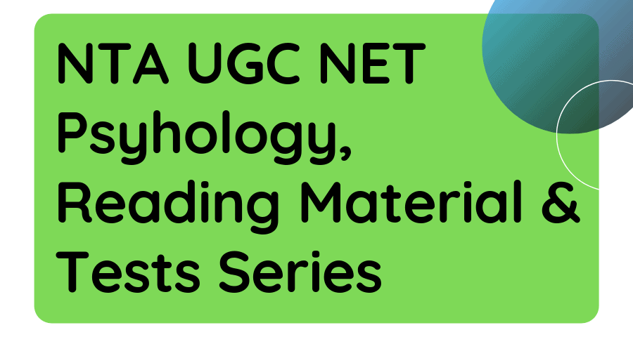 UGC NET Mock Tests-4